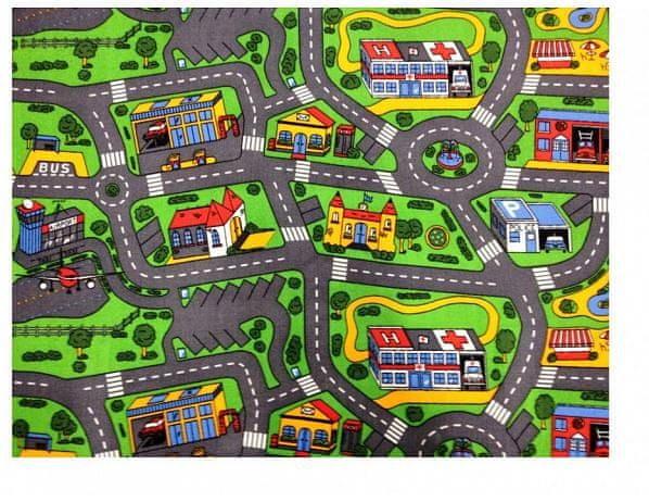 Dětský koberec City life 95x200 cm