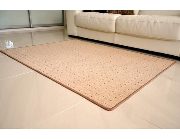 Kusový koberec Udinese béžový 120x170 cm