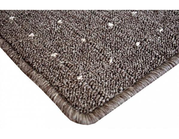 Kusový koberec Udinese hnědý - Rozměr 200 x 300 cm