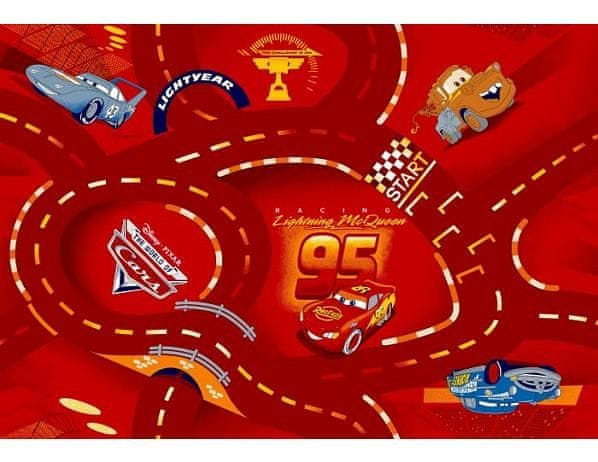 Dětský koberec The Wolrd of Cars 10, 140x200 cm