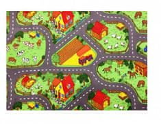 Dětský koberec Farma II., 200x200 cm