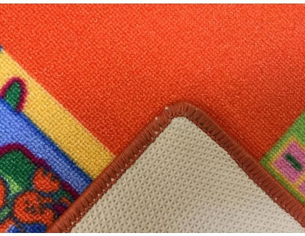 Kusový koberec Abeceda na hraní 100x100 cm