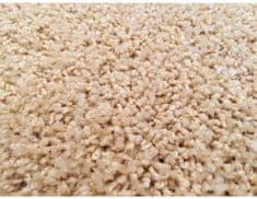 Kusový koberec Color Shaggy béžový, průměr 80 cm