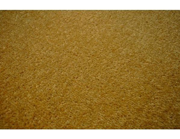 Kusový béžový koberec Eton 80x150 cm