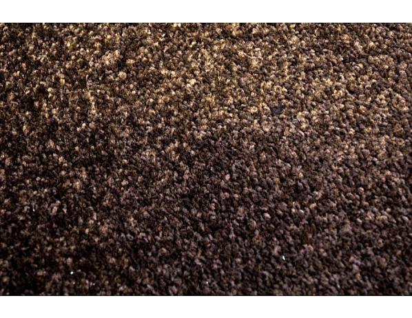 Kusový hnědá koberec Eton 80x150 cm