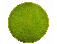 Vopi Kulatý zelený koberec Eton průměr 80 cm