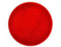Vopi Červený kulatý koberec Eton průměr 80 cm