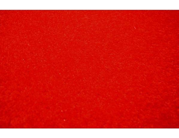 Červený kulatý koberec Eton průměr 120 cm