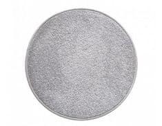 Vopi Kulatý šedý koberec Eton průměr 80 cm
