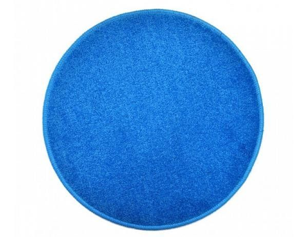 Kulatý světle modrý koberec Eton průměr 200 cm