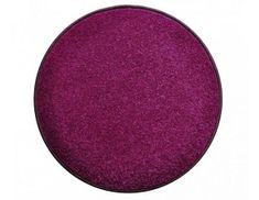 Vopi Kulatý fialový koberec Eton průměr 80 cm