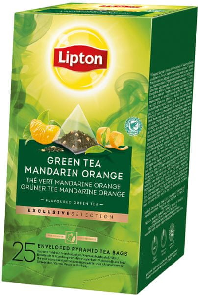 Lipton Exclusive Selection Green Tea Mandarin Orange 30 sáčků