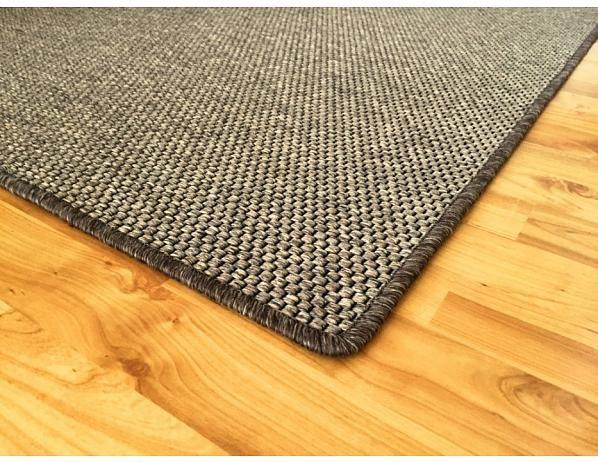 Kusový tmavě béžový koberec Nature 120x170 cm
