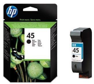 HP č.45 černá originální inkoustová kazeta (51645AE )