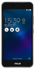 Asus telefon Zenfone 3 Max, sivi (ZC520TL)