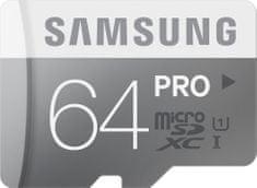 Samsung microSDXC 64GB PRO UHS-I (class 10) 90MB/s (MB-MG64E/EU)