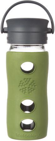 Lifefactory hrnček cafe uzáver  350 ml Sage