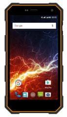 myPhone HAMMER ENERGY LTE, Dual SIM, oranžovo-černý