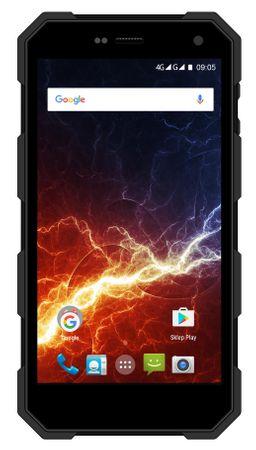 myPhone HAMMER ENERGY, Dual SIM, Okostelefon, Fekete