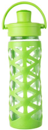 Lifefactory fľaša Activ CAP 475 ml Lime