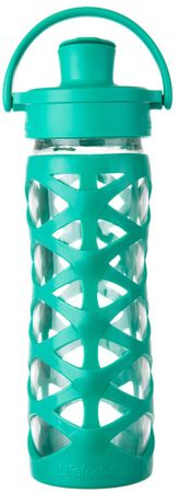 Lifefactory fľaša Activ CAP 475 ml Aquatic Green