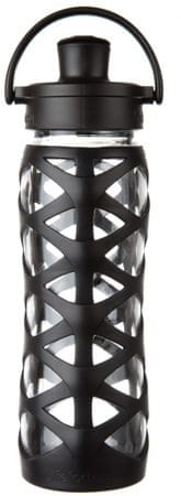 Lifefactory fľaša Activ CAP 650 ml Onyx