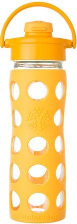 Lifefactory fľaša s flip uzáverom  475 ml collegiate