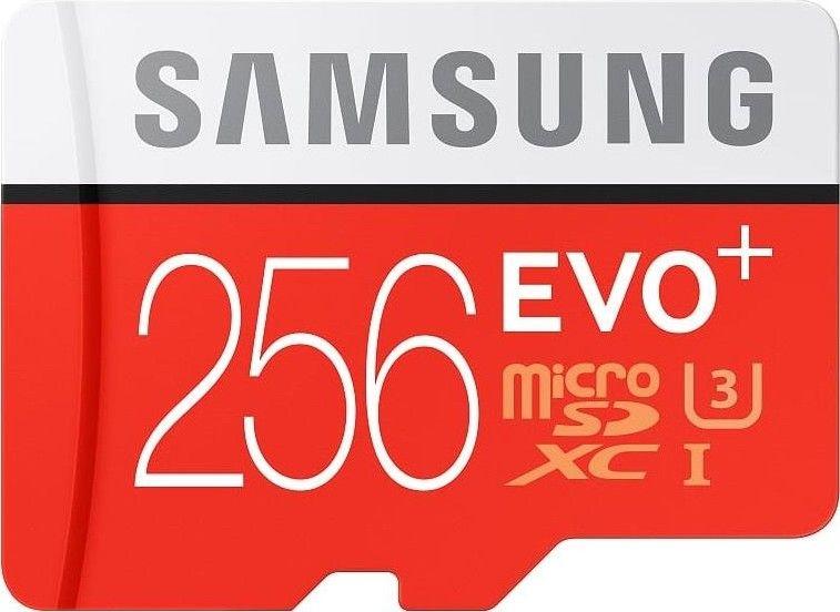 Samsung microSDXC 256GB EVO Plus 80 MB/s + adaptér (MB-MC256DA/EU)
