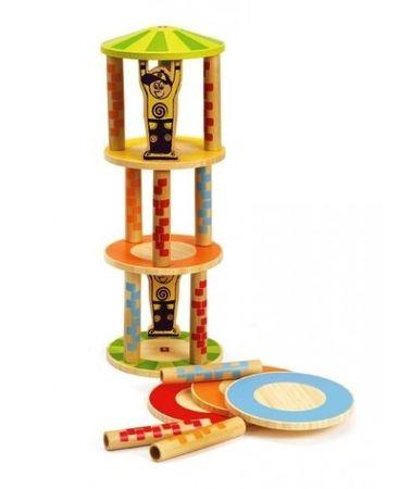 Hape lesena igrača Nori stolp