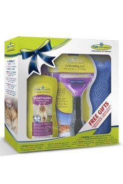 FURminator hrablo Large Short Hair pre mačky 1ks Vianoce