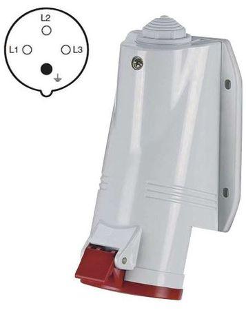Emos zidna vtičnica 4P 32A/400V (A6212)