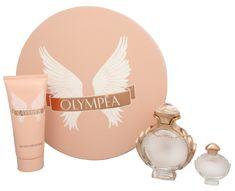 Paco Rabanne Olympea - Parfumová voda s rozprašovačom 50 ml + telové mlieko 100 ml + miniatúra 6 ml