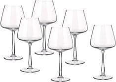 Banquet set kozarcev za vino Gourmet Burgundy, 570 ml, 6 kosov