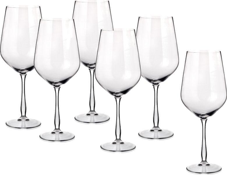 Banquet sklenice na červené víno Gourmet 800 ml, 6 ks