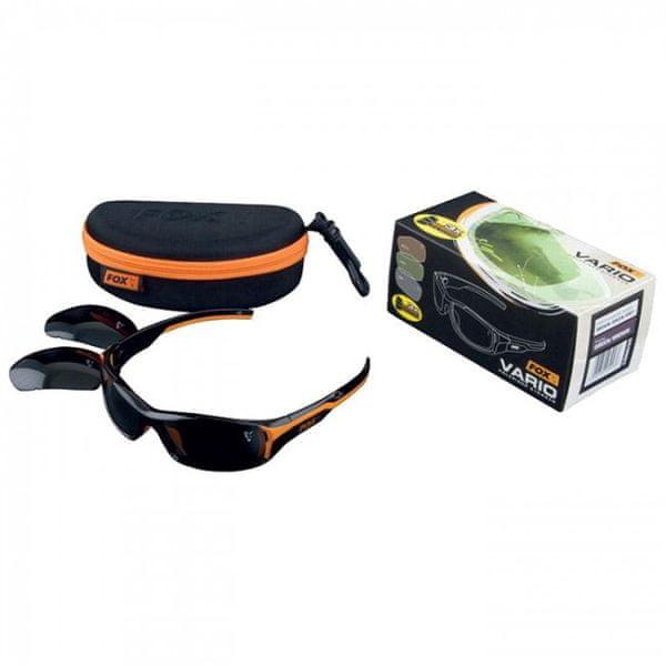 Fox Sluneční brýle Vario černo-oranžové obroučky