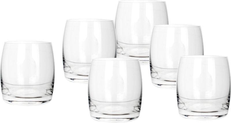 Banquet sklenice na whisky Leona 280 ml, 6 ks