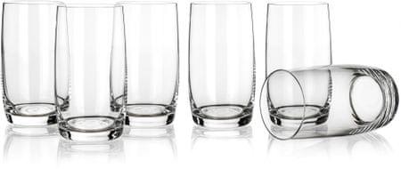 Banquet szklanki long drink Leona 380 ml, 6 szt.