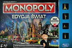 HASBRO Monopoly Gra Here and now Edycja Świat