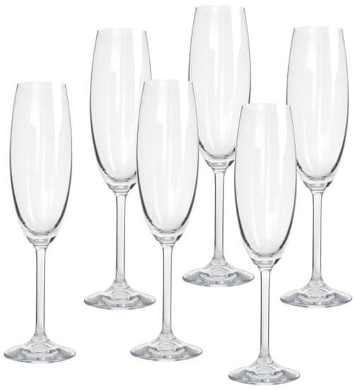 Banquet sklenice na sekt Degustation 280 ml, 6 ks