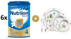 Nutrilon 4 Pronutra - 6×800g + Avent jídelní sada