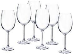 Banquet set kozarcev za belo vino Degustation, 350 ml, 6 kosov