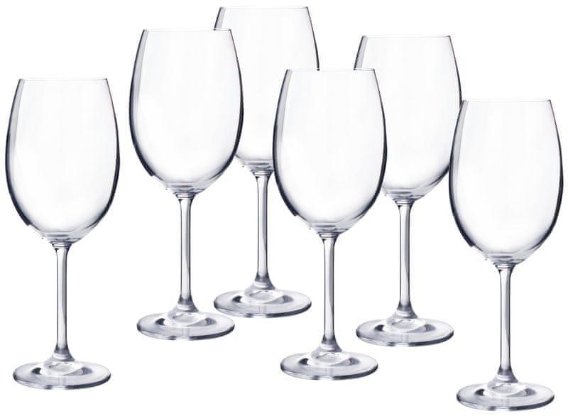 Banquet sklenice na bílé víno Degustation 350 ml, 6 ks