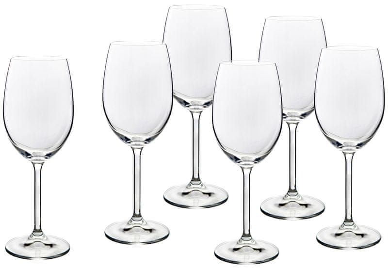 Banquet sklenice na červené víno Degustation 450 ml, 6 ks