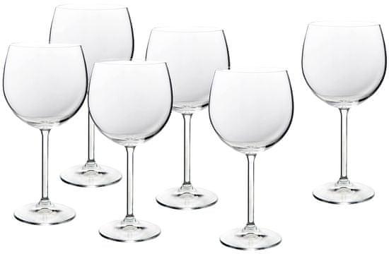 Banquet sklenice na červené víno Degustation Ballon 570 ml, 6 ks