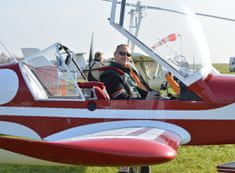 Poukaz Allegria - pilotem letadla na zkoušku