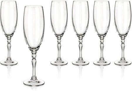 Banquet poháre na sekt Lucille 190 ml, 6 ks