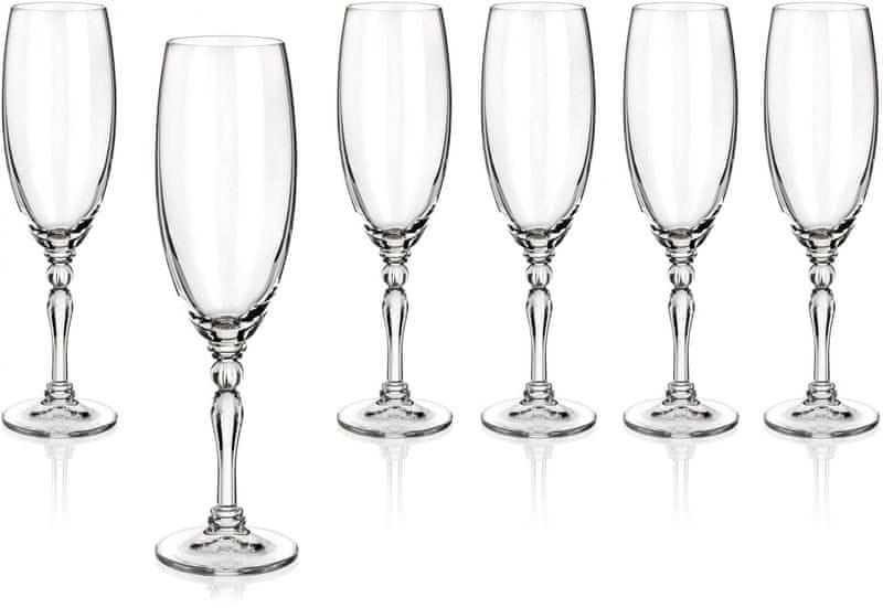 Banquet sklenice na sekt Lucille 190 ml, 6 ks
