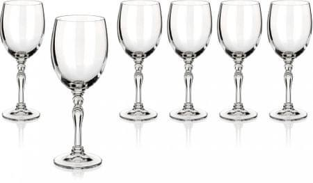 Banquet set kozarcev za rdeče vino Lucille, 250 ml, 6 kosov