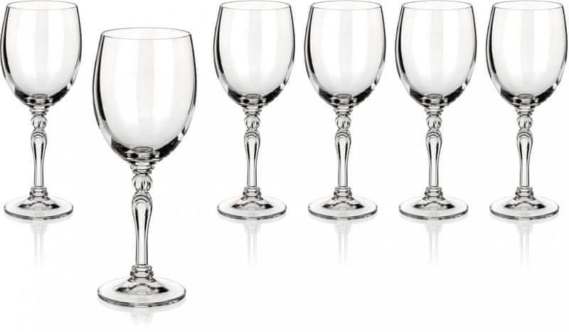 Banquet sklenice na červené víno Lucille 250 ml, 6 ks