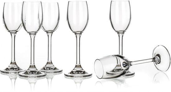 Banquet sklenice na likér Leona 60 ml, 6 ks